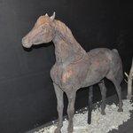 Escultura de chocolate - cavalo