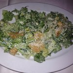 Delicious Caesar salad...great tangy dressing!