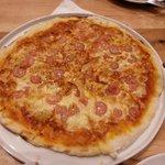 Pizza com camarão