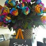 Nunca deben faltar las flores