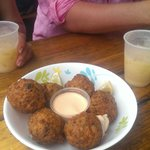 Willie T's conch fritters