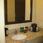"""Bathroom """"annex"""" / Kitchen area - nice!"""
