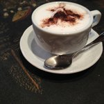 Complimentary Cappuccino While Waiting for the Room to Be Ready