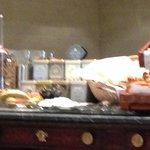 Breakfast: Fruit, Tea, Bread, etc.