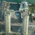 Hotel vue de la CN Tower