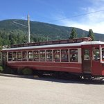 Nelson Tram Car - taken July 2014