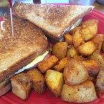 Toast con patate