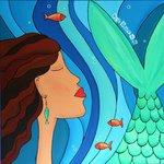 Mermaid ~ Art by Sabine Kearns
