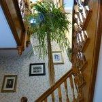 Stairway to second floor rooms