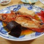 Kinki cooked in Japanese sauce