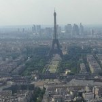 View a top of Montparnasse Tower