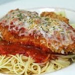 chicken Parmesan  meal