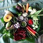 Fresh Veggies and Herbs