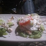 Lettuce Chicken Wrap--- loved it!