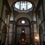 Interno di Santa Maria del Calcinaio a Cortona