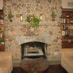den/ fire place