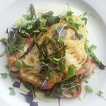 Pan seared cod. Amazing!