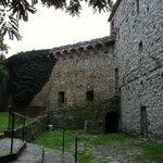 corte interna della  Fortezza di Girifalco a Cortona