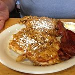 Cinammon roll french toast
