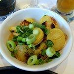 Wiener schnitzel - side patato salad