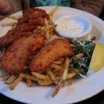Salmon Fish & Chips
