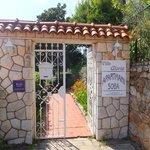 Villa Gloria entrance