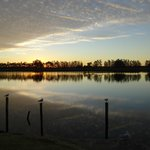 Winter sunset at Riverside Park, Raymond Terrace