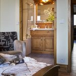 Chambre double avec salle de bain