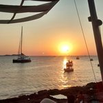 Puesta de sol en Sant Antoni (Savannah CLub)