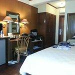View inside villa seaview room