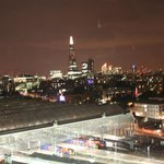 London Skyline with The Shard and Waterloo Station as backdrop