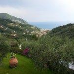 la vue depuis A Casa Di Roby (village de Moneglia)