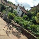 Great garden terrace