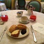 Ontbijt, simpel italiaans.