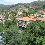 Restaurant veranda panoramic view 1