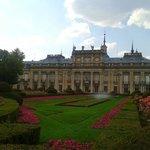 Palácio Real de la Granja de San Ildefonso - vista do jardim