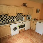 Delacy well equipped open plan kitchen