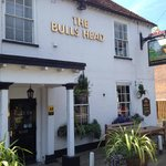 Front of Bulls Head from the main road