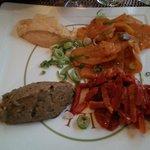 Assiette Afrique Orient