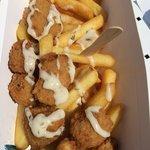 Scampi n chips