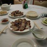 Crispy duck feast