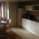Kitchen in duplex apartment
