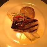 Grilled salmon, white asparagus, bolangere potato's and bearnaise