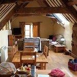Main room looking toward lounge area