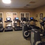 Ellipticals and treadmills are modern.