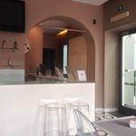 reception/breakfast area