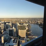 Brisbane from 68th floor Meriton