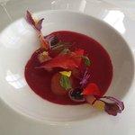 Gazpacho de frutos rojos
