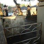gates closed for Nyepi day @ Jayakarta