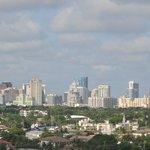 Fort Lauderdale skyline viewed from room